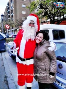 Papá Noel a domicilio con su visita en Córdoba