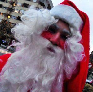 Papá Noel a domicilio en Córdoba