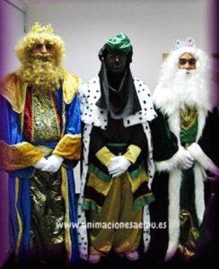 visita de los Reyes magos a domicilio en córdoba