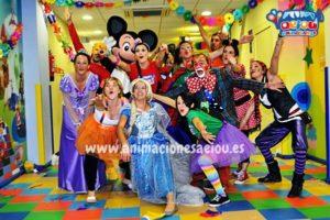 Fiestas Tematicas Infantiles Frozen en Cordoba