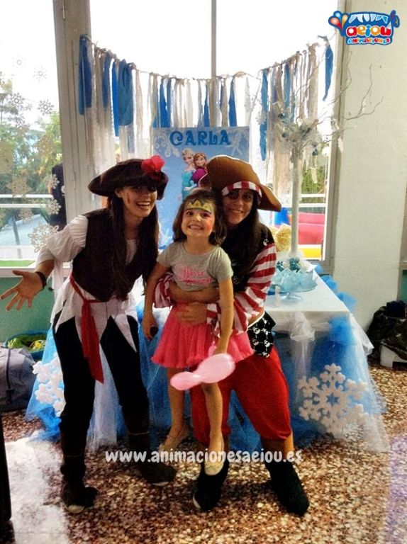 Contrata la mejor fiesta de cumpleaños pirata
