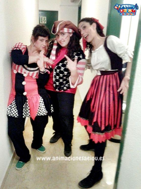 Fiestas temáticas de piratas en Córdoba