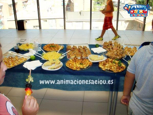 Menú para cumpleaños infantil en Córdoba