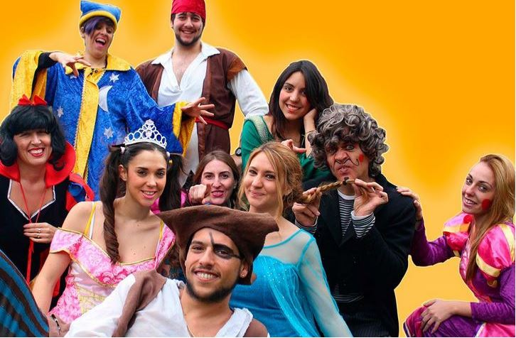Animadores, magos y payasos en Montilla